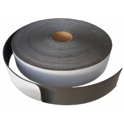30mm x 3mm x 30m Acoustic Sound proofing resilient tape. Single sided foam tape