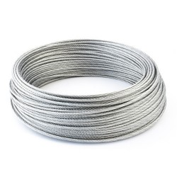 6mm Wire Rope Zinc Steel Rope Cable Rigging Price Per Meter FREE DELIVERY