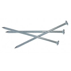 1 KG Galvanised Ring Annular Shank Nails Nail Steel High Quality Various Sizes