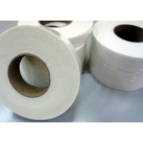 40mm Width x 5m Length Self-dhesive Felt Furniture Pad Roll Felt Strip White T 2.5mm
