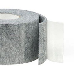 75mm Width x 5m Length Self-Adhesive Felt Furniture Pad Roll Felt Strip Grey 3 mm T