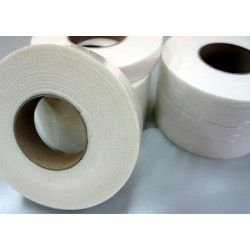 40mm Width x 5m Length Self-dhesive Felt Furniture Pad Roll Felt Strip White T 3.5mm