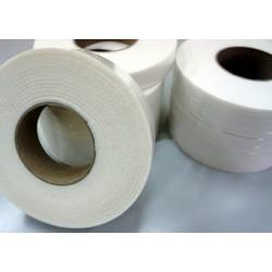 75mm Width x 5m Length Self-dhesive Felt Furniture Pad Roll Felt Strip White T 3.5mm