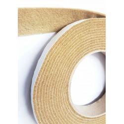 10mm Width x 5m Length Self-Adhesive Felt Furniture Pad Roll Felt Strip Beige 2.5 mm T