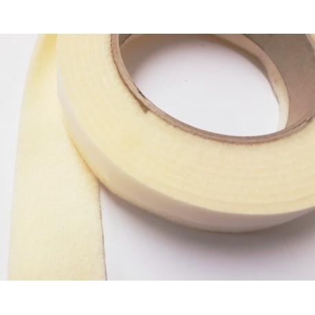100mm Width x 5m Length Self-Adhesive Felt Furniture Pad Roll Felt Strip Cream 2.5 mm T