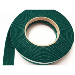 75mm Width x 5m Length Self-Adhesive Felt Furniture Pad Roll Felt Strip Dark Green 2.5 mm T