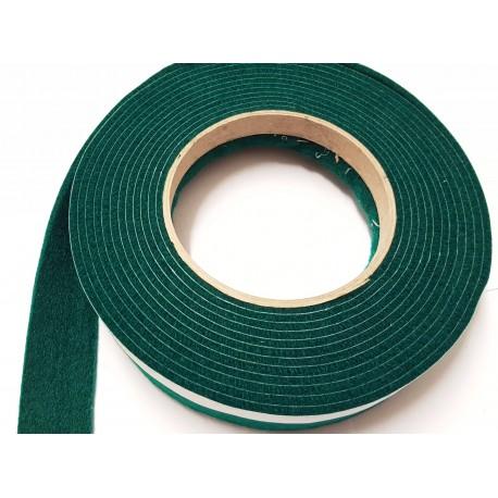 100mm Width x 5m Length Self-Adhesive Felt Furniture Pad Roll Felt Strip Dark Green 2.5 mm T