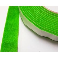 100mm Width x 5m Length Self-Adhesive Felt Furniture Pad Roll Felt Strip Green 2.5 mm T
