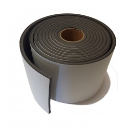 10mm Thick x 200mm Width x 10m Long Acoustic Soundproofing Resilient Tape - Joist / Stud work Isolation