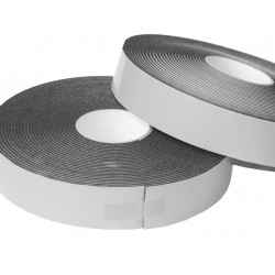 300m (15 rolls) of 5mm Thick x 50mm Width Long Acoustic Soundproofing Resilient Tape - Joist / Stud work Isolation