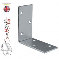 Galvanised Corner Brace Angle 90 Degree Bracket Timber Joist Plate Connector