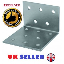 Galvanised Corner Brace Angle 90 Degree Bracket Timber Joist Plate